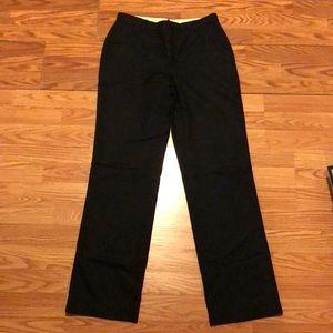 Black wool banana republic pants size 4